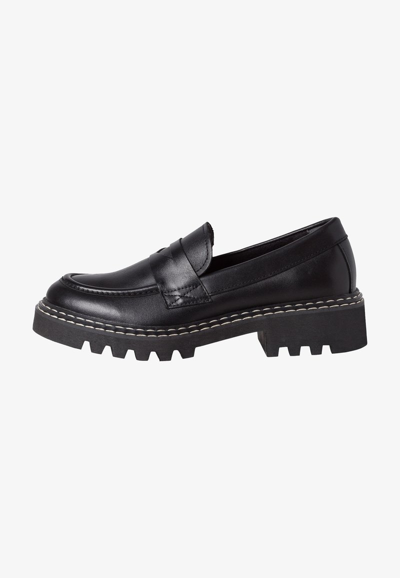 Tamaris - Slip-ons - black leather