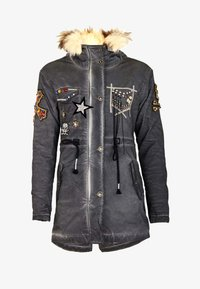 Cipo & Baxx - Winter jacket - anthracite - 7