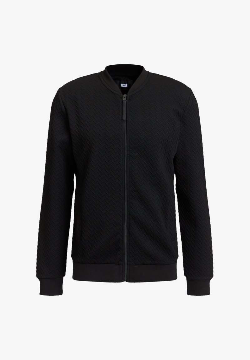 WE Fashion - Sweater met rits - black