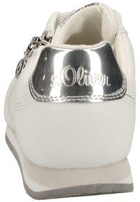 s.Oliver BLACK LABEL - Sneakersy niskie - white 100 - 4