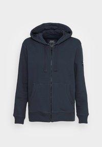 Ecoalf - BASICALF WOMAN HOODIE - Sweater met rits - vintage navy - 3