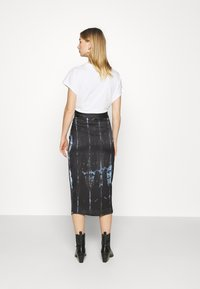 Never Fully Dressed - TIE DYE JASPRE SKIRT - Kynähame - navy - 2