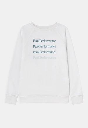 JR GROUND CREW UNISEX - Sweater - white