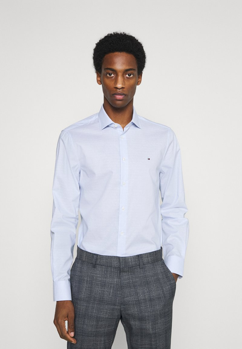 Tommy Hilfiger Tailored - STRIPE DOBBY - Formal shirt - classic blue