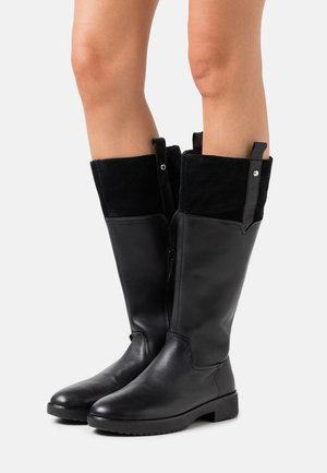 SIGNEY KNEE HIGH BOOTS - Boots - all black