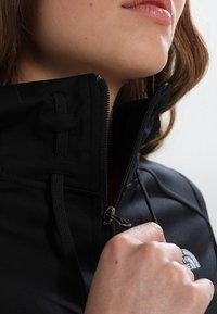 The North Face - WOMENS TECH MEZZALUNA HOODIE - Fleece jacket - black - 6