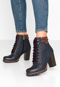 TOM TAILOR - Ankle boots - navy - 0