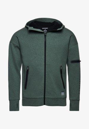 Zip-up hoodie - teal