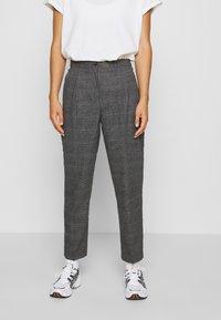 Monki - TARJA TROUSERS - Trousers - grey - 0