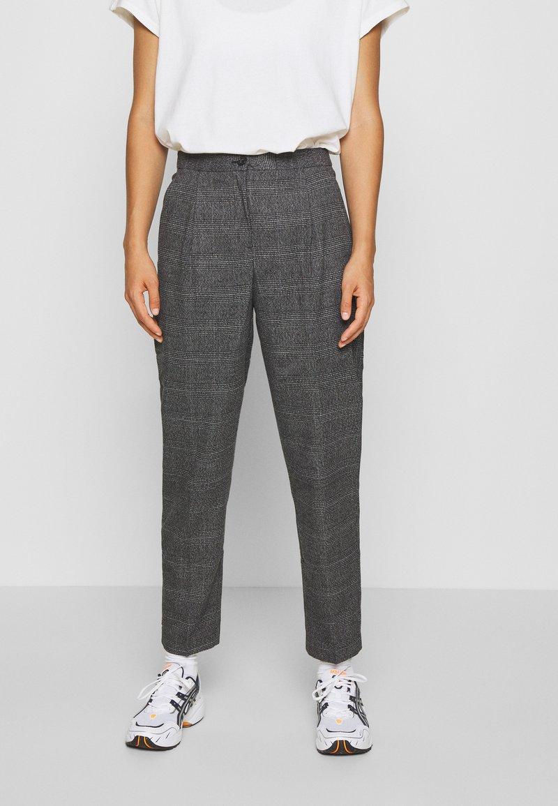 Monki - TARJA TROUSERS - Trousers - grey