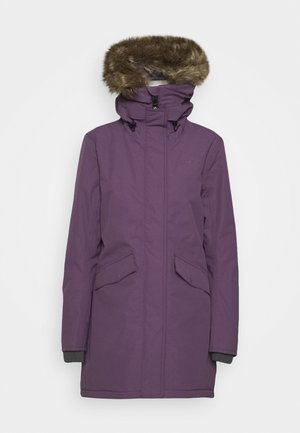 ANETTE - Winter coat - eggplant