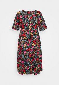 Simply Be - SLEEVE DRESS - Korte jurk - black - 1