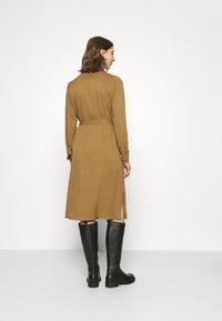 Vila - VIDANIA BELT DRESS - Shirt dress - butternut - 2
