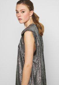 Monki - ALVINA BLING DRESS - Robe de soirée - silver / black - 3