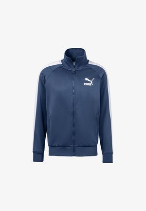 PUMA ICONIC T7 MEN'S TRACK JACKET MALE - Training jacket - dark denim