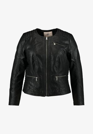 CAROKRA  - Faux leather jacket - black