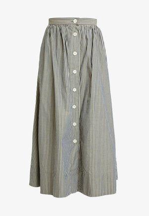 BENTEN - Gonna a campana - grey/beige