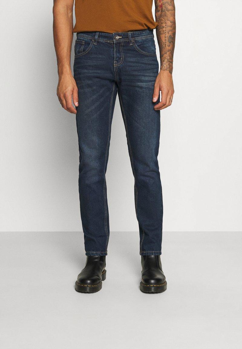 Redefined Rebel - NEW YORK JEANS - Slim fit jeans - blue denim