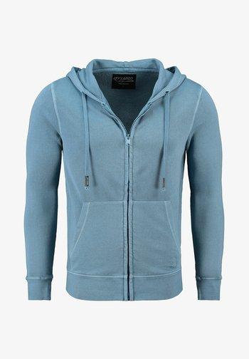 Zip-up sweatshirt - bleu