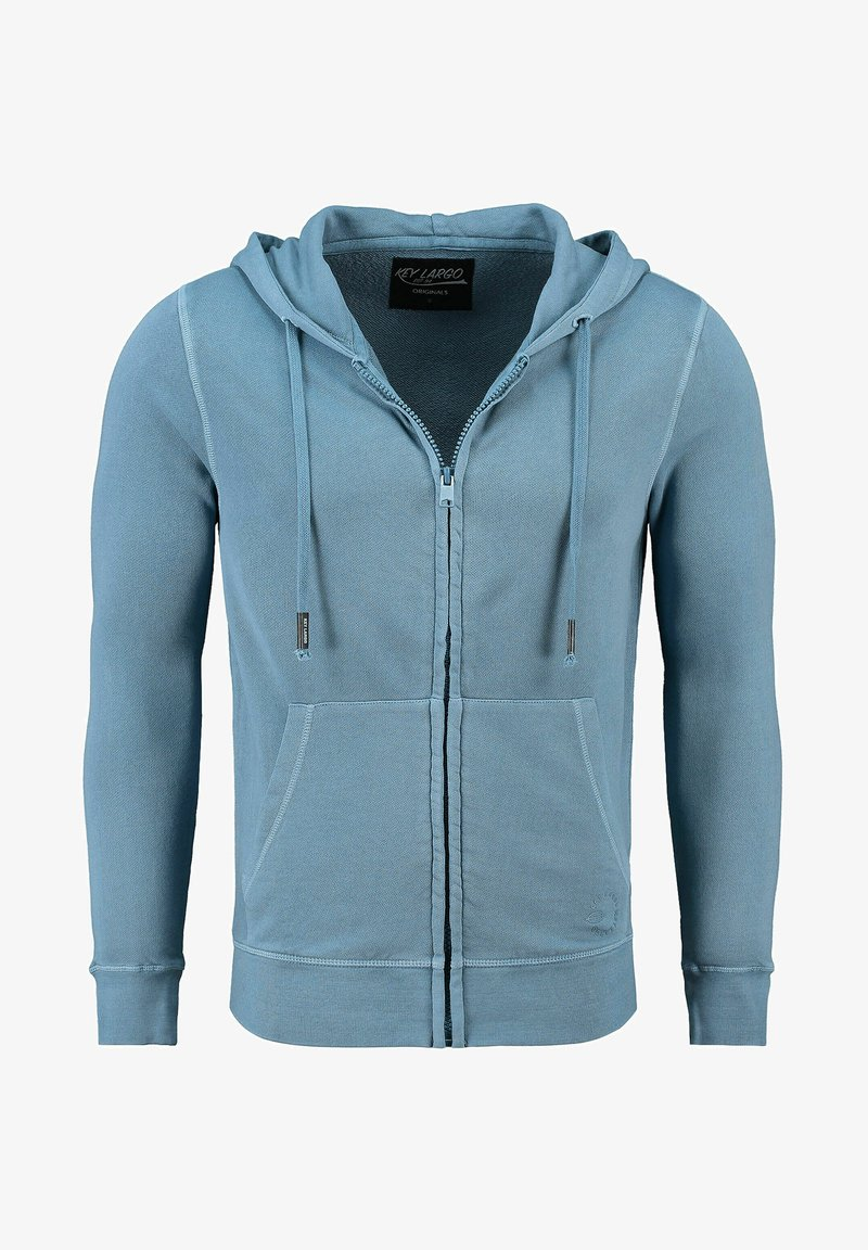 Key Largo - Zip-up sweatshirt - bleu