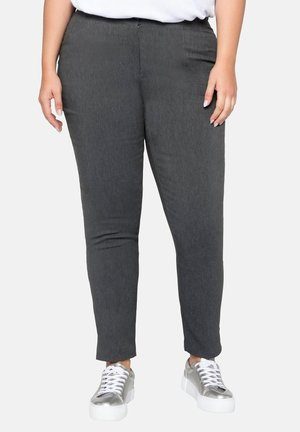 HOSE - Trousers - heather grey
