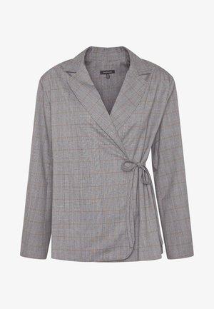 SIDE TIE - Blazer - grey