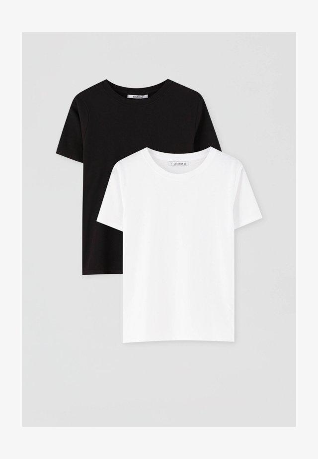 2 PACK - T-paita - white