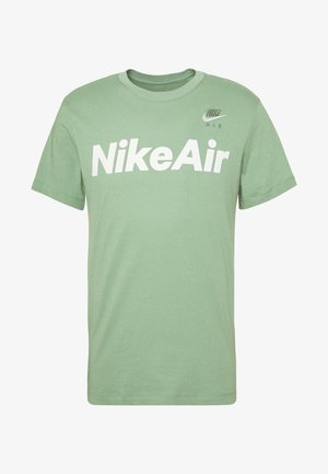 AIR TEE - Camiseta estampada - silver pine/white
