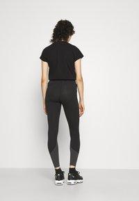 Nike Sportswear - Leggings - black/smoke grey - 3