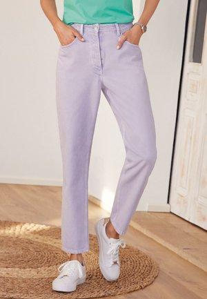 Straight leg jeans - lilac