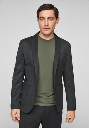 Suit jacket - black melange