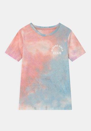 STEVIE SHORT SLEEVE EMBELLISHED - Print T-shirt - purple