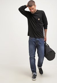 Carhartt WIP - POCKET  - Top sdlouhým rukávem - black - 1