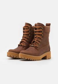Timberland - COURMA VALLEY BOOT WP - Platform ankle boots - mid brown - 2