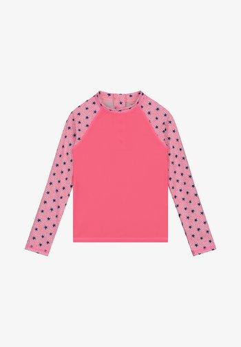 RASHTEE STARDUST - Rash vest - azalea pink
