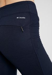 Columbia - ROFFE RIDGE TRAIL PANT - Leggings - dark nocturnal - 4