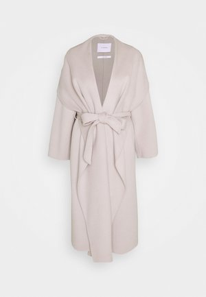 BATHROBE COAT - Classic coat - light grey