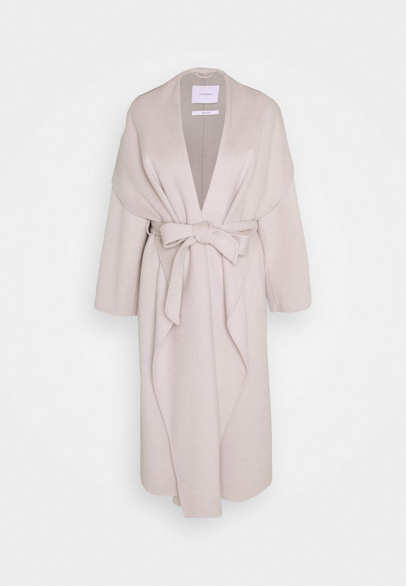 IVY & OAK - BATHROBE COAT - Zimní kabát - light grey