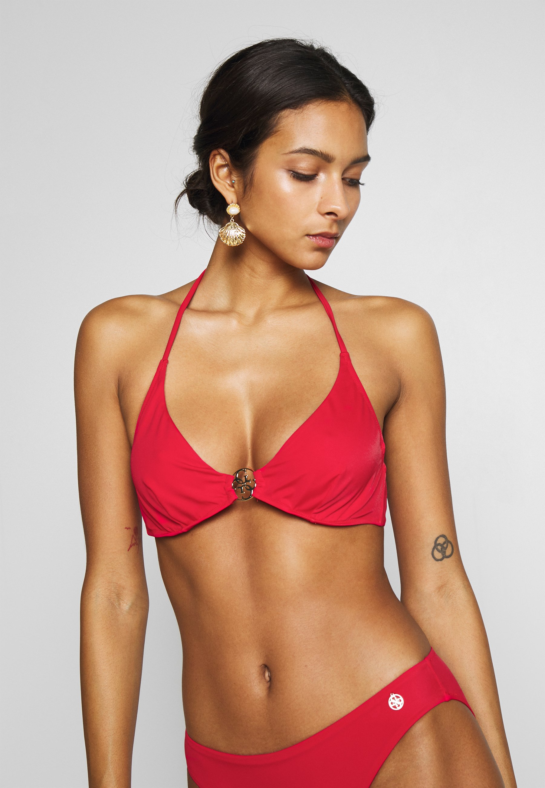 Guess ICON WIRED CUP - Bikinitopp - red