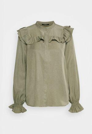 LAERA DOVE - Button-down blouse - olive tree