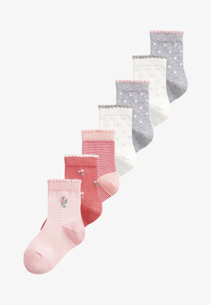 Next - 7 PACK PRETTY - Socks - pink