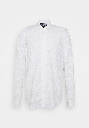 SHIRTING PRINT LOGO - Shirt - white