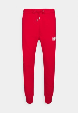 TARY ECOLOGO - Tracksuit bottoms - red