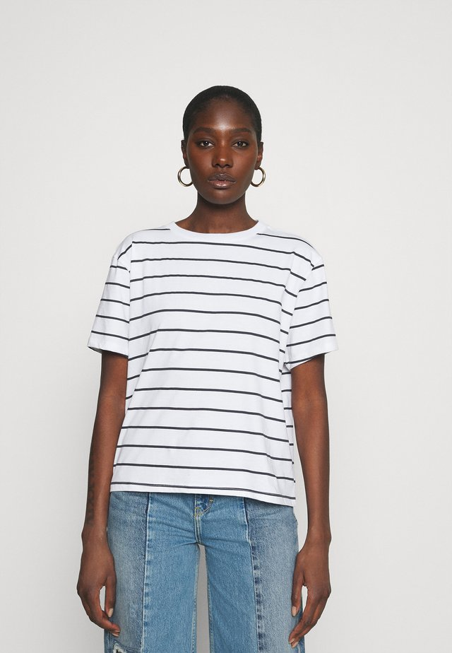 VINTAGE TEE - T-shirts med print - classic stripe