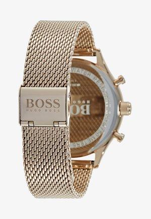 COMPANION - Chronograph watch - gold-coloured