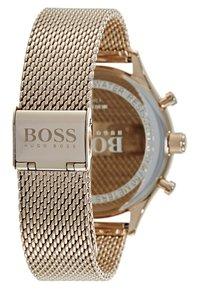 BOSS - COMPANION - Chronograph watch - gold-coloured - 2