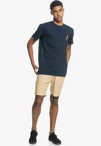 Quiksilver - Print T-shirt - navy blazer - 1
