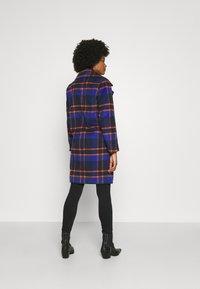 ONLY - ONLTAYLOR CHECK WOOL COAT OTW - Classic coat - sodalite blue/scarlet ibis - 2