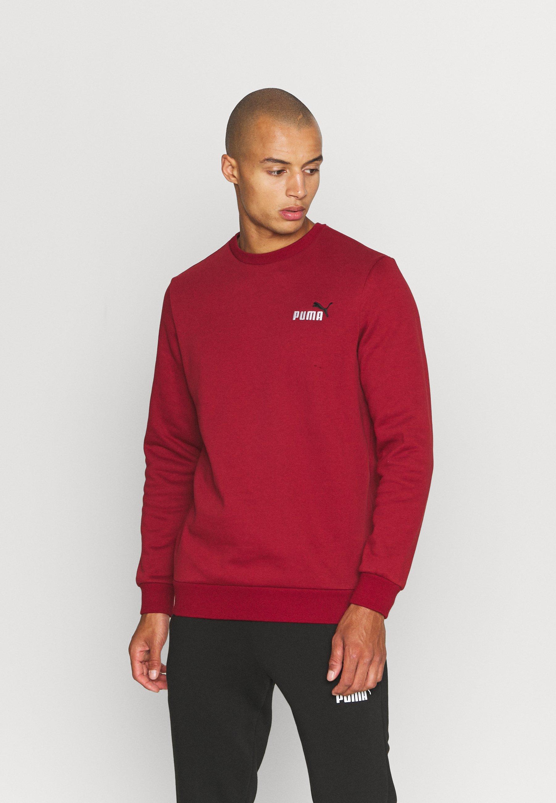 Men EMBROIDERY LOGO CREW - Sweatshirt