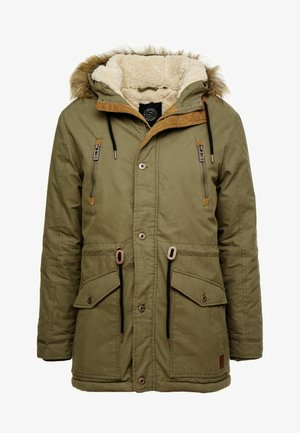 FAUX FUR - Parka - army